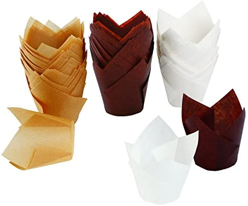 Resinta Pieces Cupcake Wrappers Natural product image