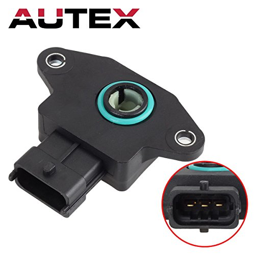 AUTEX Throttle Position Sensor TPS 3517022600 TH366 compatible with Cadillac Catera/Dodge Attitude/compatible with Hyundai Accent & Elantra/compatible with Kia Spectra & Spectra5/Saab 9-3 900