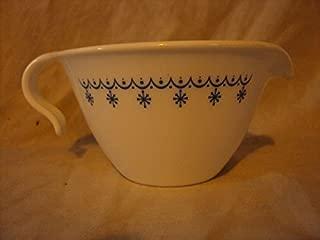 product image for Corelle Vintage Snowflake Blue Creamer