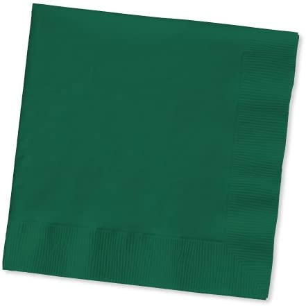 Hunter Green Luncheon Napkin, 2 Ply, Solid