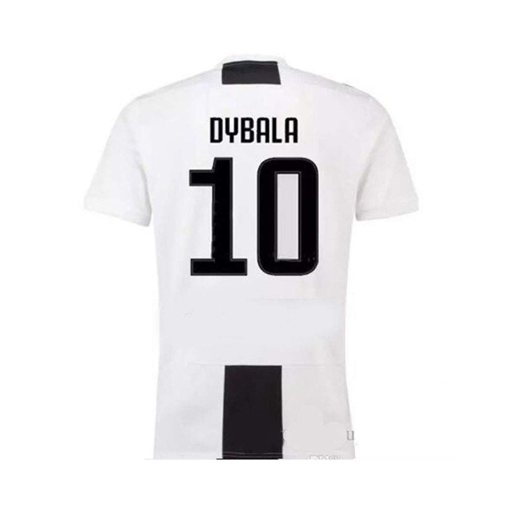 b1a93ae09 Amazon.com   Juventus Serie A 2018 19 Ronaldo Dybala Replica Jersey Kid Kit    Shirt