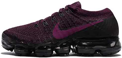 wholesale dealer 44fc3 57be5 NIKE Womens AIR Vapormax Flyknit Size 6.5 Bordeaux Berry Black