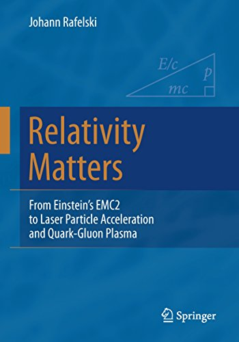 Relativity Matters: From Einstein's EMC2 to Laser Particle Acceleration and Quark-Gluon Plasma