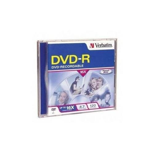 DVD-R 4.7GB 16X Branded Surface Jewel Case - Verbatim 95051