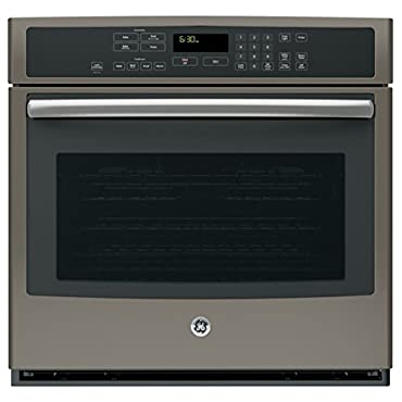 GE PT7050EHES 30 Electric Single Wall Oven w/ Convection, Slate