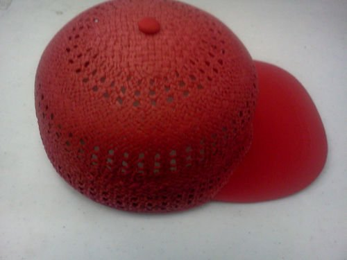 capas Headwear野球キャップストロー夏キャップレッドサイズS   B00E833VMY