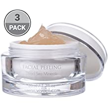 Vivo Per Lei Dead Sea Facial Peeling Gel, Gets Rid of Dead Cells and Dirt Instead of Your Skin, 1.7 Fl. Oz. (Pack of 3)