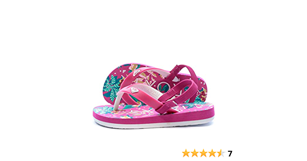 show original title Details about  /Roxy tahiti v sandals girl baby fashion casual beach shoes arol 100005-pip