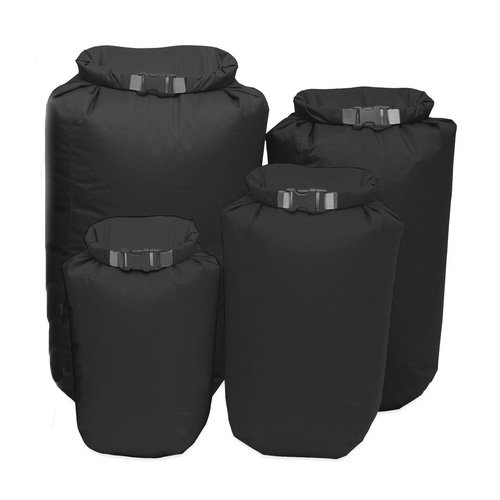 Exped Fold Dry 4 Pack Drybag One Size Black Exped Fold Dry Bags