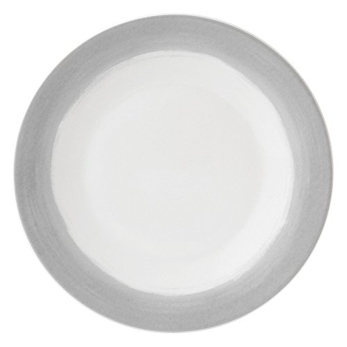 Wedgwood Vera Simplicity Ombre Round Plate, 9'', White by Wedgwood