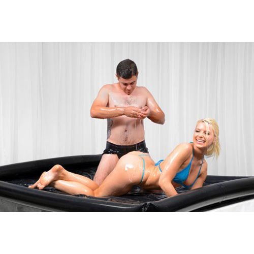 Nuru Massage Inflatable Sheet Couples Spill Proof Wet Bed (Wet Massage)