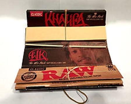Raw – Papel de fumar y puntas The Wiz Pack de Wiz Khalifa, 5 ...
