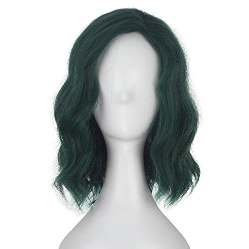 Miss U Hair Girl Adult Short Wavy Dark
