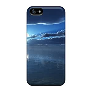 CaroleSignorile MQW39649ELRf Cases For Iphone 5/5s With Nice Moon Time Appearance