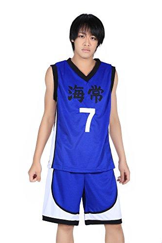 ICEMPs Kuroko no Basket Kaijou High School No. 7 Kise Ryouta 1st Ver Set M