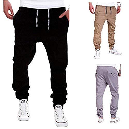 Mode Lacets Garçons Noir Joggers À Sportswear Danse Laisla Casual Hommes Classique Sarouel Pants Baggy dC7wPgq
