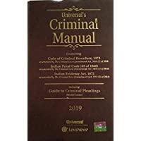 Criminal Manual: Cr.P.C., I.P.C. & Evidence (with Free Guide to Criminal Pleadings - Model Forms)
