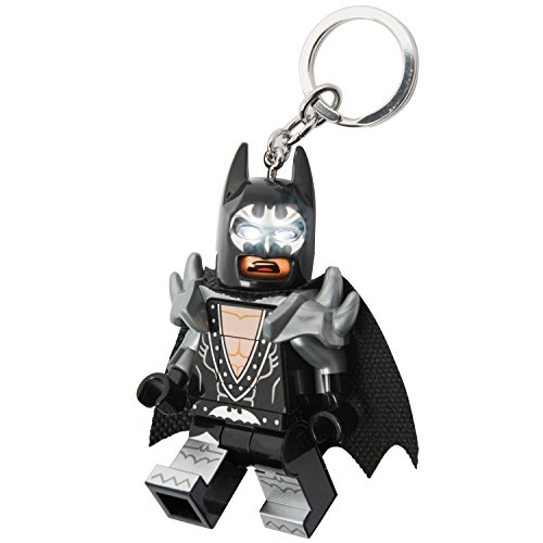 LEGO Batman Movie - Glam Rocker Batman - LED Key Chain Light with Illuminating - Keychain Batman Lego