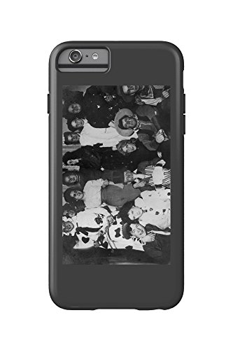 A Halloween Costume Party (iPhone 6 Plus Cell Phone Case Cell Phone Case, Tough) (Halloween Costumes For Work Groups)