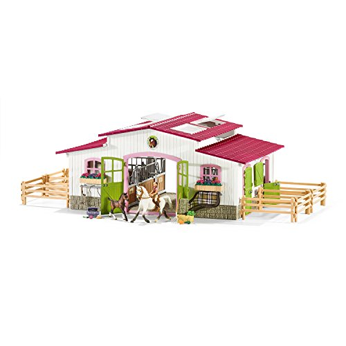 Schleich Horse Club Riding Center with Accessories Set