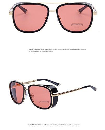 Sun glasses Men Mirrored Designer Brand Glasses Vintage Sun - Visor Mirrored Oakley