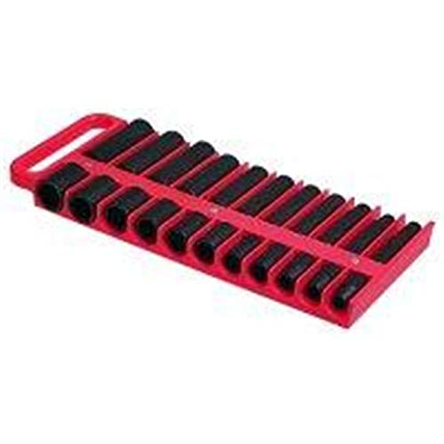 ToolTime 1/2 in. Drive Red Magnetic Socket Holder