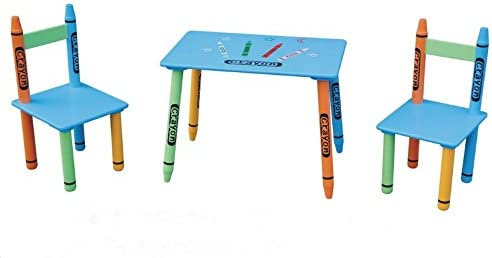 Astonishing Crayon Childrens Table And 2 Chairs Set Kids Tables Two Ocoug Best Dining Table And Chair Ideas Images Ocougorg