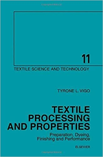 Dyeing Textile Processing and Properties Preparation Finishing and Performance