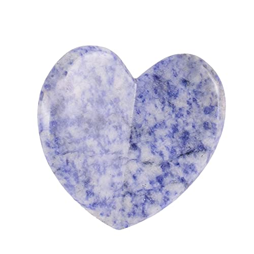 Gua Sha Massage Tool Nature Jade Stone Guasha Massage Tool Beauty Accessories for Women Tool (Purple-4)