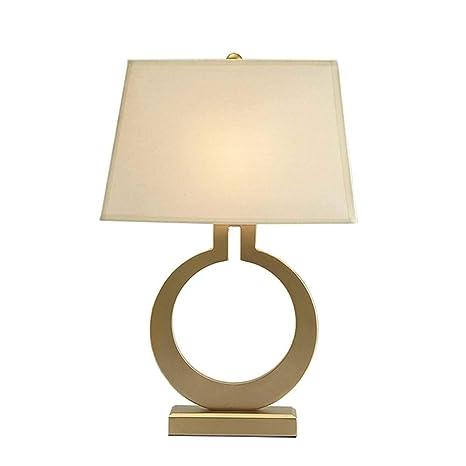 Lámpara de Mesa Guo Shop- Diseño Simple Retro Hierro Forjado ...