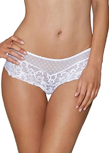 Aubade Wandering EF70 Short Brief Knickers Underwear White X-Large