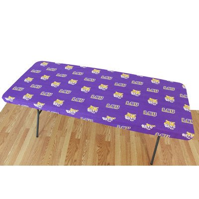 College Covers Louisiana State Tigers Table Cover, 6'/72 by 30''