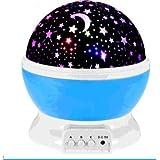 Projection lamp,Trongnro Moon Night Light USB Rotating LED Star Sky Projector Lamp,Mood Light,Decorative Light, Baby Nursery Light for 3 Models Lighting Light