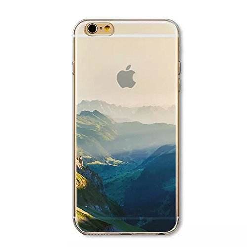Iphone 6 Plus Case, Boomy - Beautiful Scenery Series Design Transparent Acrylic Pc Back and TPU Edges Hybrid Protective Case Cover for Iphone 6 Plus 5.5 Inch (Beautiful Dream Scenery - Vancouver Fashion Hut