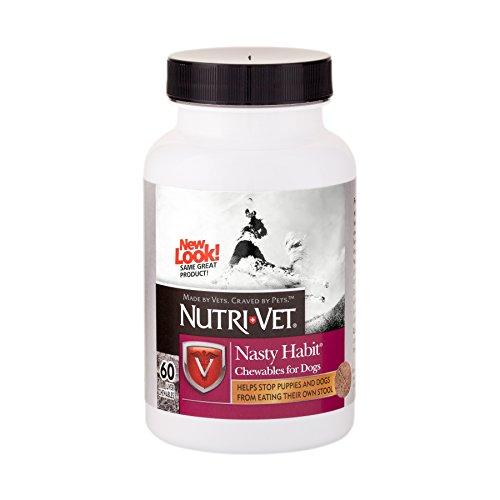 Nutri-Vet Nasty Habit Chewables, 60-Count ()