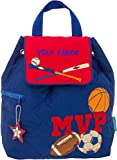 Personalized Stephen Joseph MVP Sports Quilted Backpack with Embroidered Name