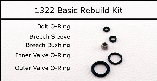Crosman 1322 Basic Reseal Rebuild O-Ring Seal Kit