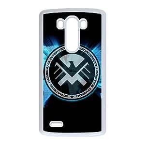 LG G3 Cell Phone Case White s.h.i.e.l.d D5771492