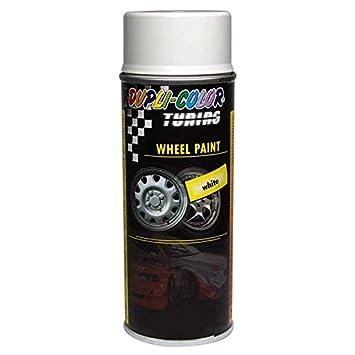 Duplicolor 324109 Tuning Universal, Pintura para Ruedas, Color Blanco, 400 ml 6: Amazon.es: Coche y moto