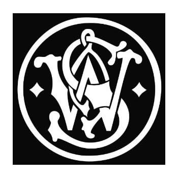Amazon Com Smith Amp Wesson Vinyl Decal Sticker Automotive