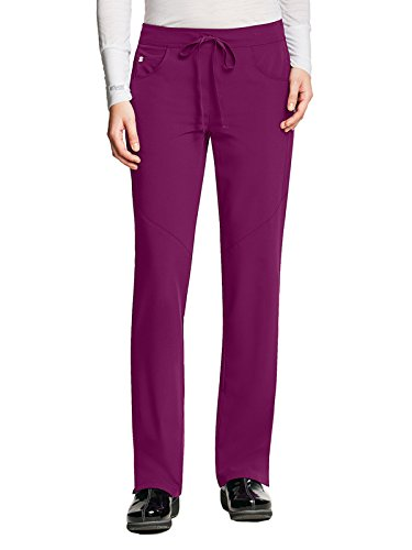 Grey's Anatomy Signature 2210 Drawstring Pant Wine XS