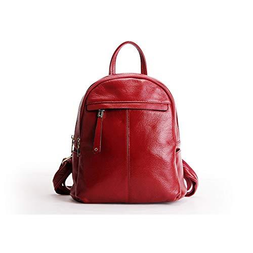 Mujeres La Viajar Yy1 Red Kunliyin Para Bolsa Las Vendimia Mochila Cuero Escuela Universitaria De 6xR6Sw7q10