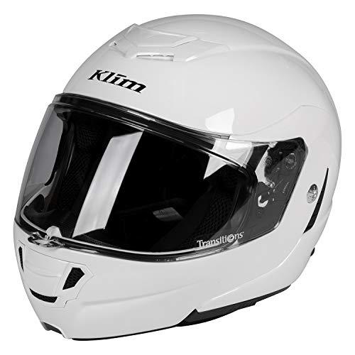TK1200 Helmet ECE/DOT SM Gloss White