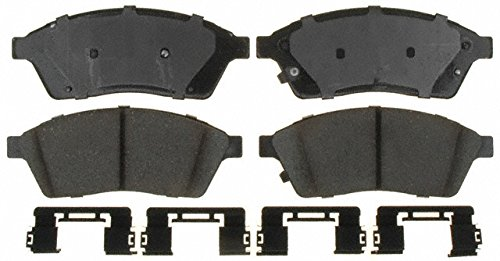 ACDelco 17D1422CH Professional Ceramic Front Disc Brake Pad Set