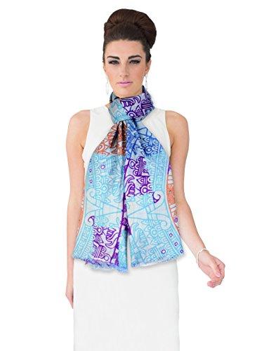 Dahlia Women's 100% wool Scarfs, Wraps, and Shawls, Fashion Design