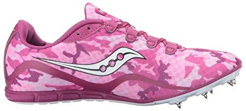 Shoe White Spike Saucony Vendetta Women's Pink twpnxaq4