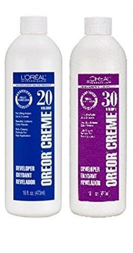 L'OREAL Oreor Crème 40 Vol. Developer Oxydant 16oz/473 ml