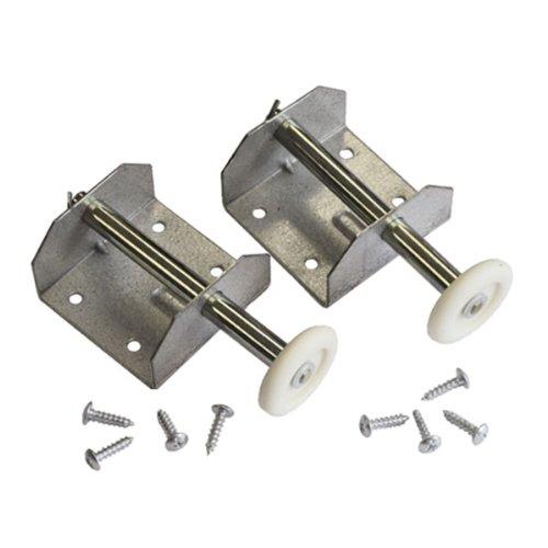 Pattern Roller Spindle & Bracket - Single Door Cardale