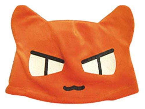 Mtxc Fruits Basket Cosplay Accessories Kyo Sohma Plush Hat Orange