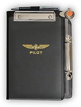 "1c2bd184560 Design4Pilots - Piernógrafo ""Profi"" A5 / Pilot Kneeboard  Organizer ..."